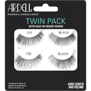Ardell 105 Lashes Twin Pack