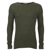 Selected Homme Men's Denton Crew Neck Sweatshirt - Dark Green