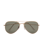 Selected Homme Men's Alberto Aviator Sunglasses - Gold