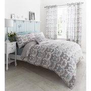 Catherine Lansfield Pastiche Butterfly Bedding Set - Duck Egg