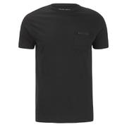 Brave Soul Men's Faustian Zip Pocket T-Shirt - Black