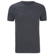 Brave Soul Men's Arkham Pocket T-Shirt - Dark Charcoal