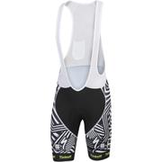 Tinkoff La Datcha BodyFit Bib Shorts 2016 - Black/White
