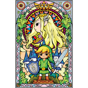 The Legend of Zelda: Wind Waker - Princess Wall Sticker