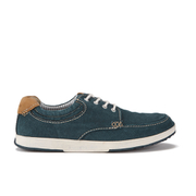 Clarks Men's Norwin Vibe Canvas Boat Shoes - Navy