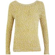 VILA Women's Jennis Knitted Top - Amber Green