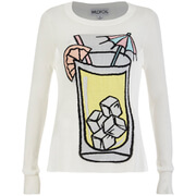 Wildfox Women's Piper Sunspiked Sweatshirt - Pearl
