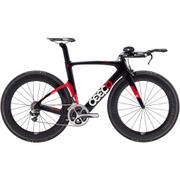 Ceepo Katana Ultegra Time Trial Bike - Black/Red