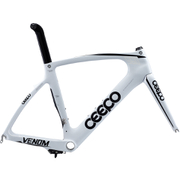 Ceepo Venom Time Trial Frameset - White