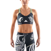 Skins DNAmic Women's Speed Crop Top - Living Lines