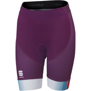 Sportful Gruppetto Women's Shorts - Purple/Pink/Blue