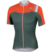 Sportful BodyFit Pro Team Short Sleeve Jersey - Grey/Red