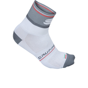 Sportful Gruppetto Pro 12 Socks - White/Grey/Red
