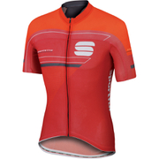 Sportful Gruppetto Pro Race Short Sleeve Jersey - Red/Grey
