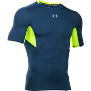 Under Armour Men's HeatGear CoolSwitch Compression Short Sleeve Shirt - Blackout Navy