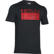 Under Armour Men's Run Track Graphic T-Shirt - Black