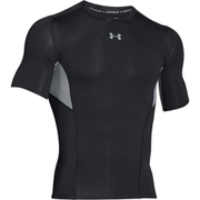 Under Armour Men's HeatGear CoolSwitch Compression Short Sleeve Shirt - Black