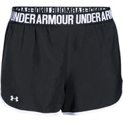 Under Armour Women's Perfect Pace Shorts - Black/White