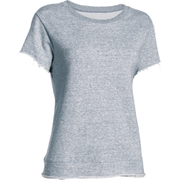 Under Armour Women's Studio Boxy Crew T-Shirt - Grey
