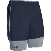 Under Armour Men's Mirage 2 in 1 Training Shorts - Navy Blue