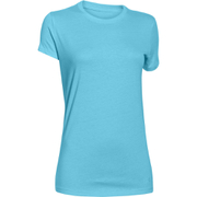 Under Armour Women's Favourite Short Sleeve Crew T-Shirt - Sky Blue