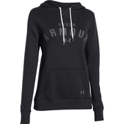 Under Armour Women's Storm Rival Cotton Pullover Hoody - Black