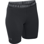 Under Armour Women's HeatGear Armour Long Shorts - Black