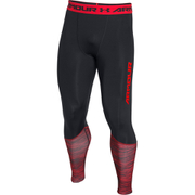 Under Armour Men's HeatGear Armour Twist Flight Compression Leggings - Black
