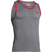 Under Armour Men's Tech Tank Top - Graphite/Red