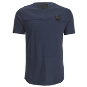 4Bidden Men's Longline Aim T-Shirt - Navy