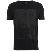 Smith & Jones Men's Diazoma Print T-Shirt - Black