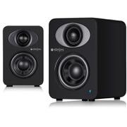 Steljes Audio NS1 Bluetooth Duo Speakers - Coal Black