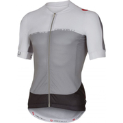 Castelli Aero Race 5.1 Short Sleeve Jersey - Grey/White