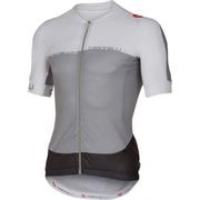 Castelli Aero Race 5.1 Short Sleeve Jersey - Grey/White
