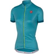 Castelli Women's Anima Short Sleeve Jersey - Blue