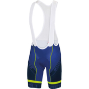 Castelli Volo Bib Shorts - Blue/Yellow