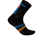 Castelli Meta 9 Socks - Black/Blue
