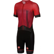 Castelli Sanremo 3.2 Speed Suit - Red/Black