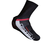 Castelli Aero Race Shoe Covers - Black/White