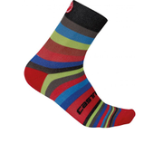 Castelli Striscia 13 Socks - Black/Multicolour