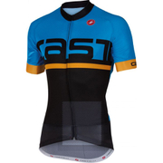 Castelli Meta Short Sleeve Jersey - Black/Blue