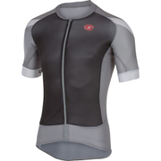 Castelli Climber's 2.0 Short Sleeve Jersey - Black/Grey