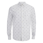 Wood Wood Men's Timothy Shirt - Box White