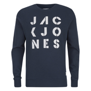 Jack & Jones Men's Core Dylan Crew Neck Sweatshirt - Navy Blazer