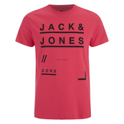 Jack & Jones Men's Core Fate T-Shirt - Cayenne