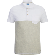 Jack & Jones Men's Originals Spark 2 Tone Polo Shirt - White