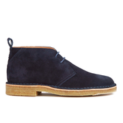 PS by Paul Smith Men's Wilf Suede Desert Boots - Navy Otterproof Suede