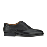 Paul Smith Shoes Men's Gilbert Leather Brogues - Black Oxford Dax Grain