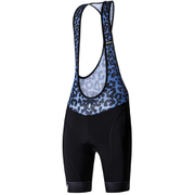 Santini Gold Women's Aero Bib Shorts - Black/Blue