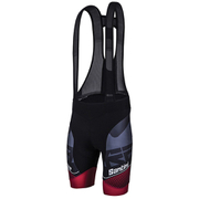 Santini Interactive 3.0 Bib Shorts - Black/Red
